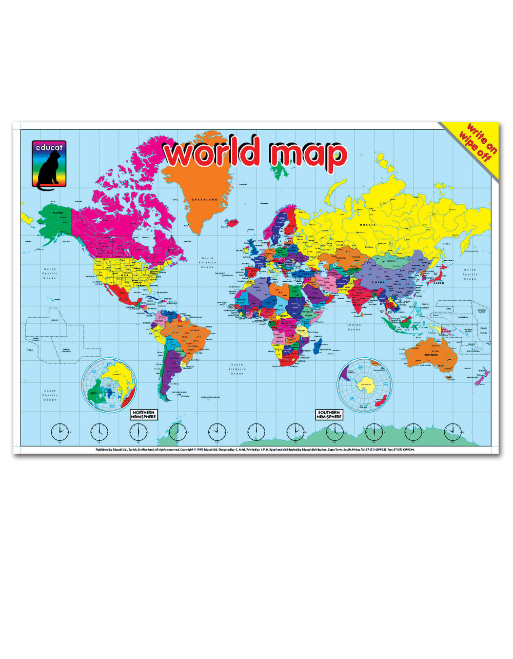 Silverleaf poster design 2 world map poster gumiabroncs Image collections